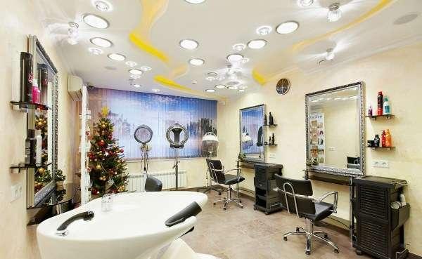 Оптимальное освещение в парикмахерской